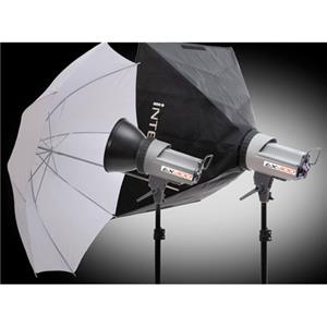 Interfit INT486 EX300 2 Head Softbox Umbrella Kit: Picture 1 regular