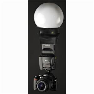 Interfit STR103 Shoe Mount Flash Globe Diffuser: Picture 1 regular