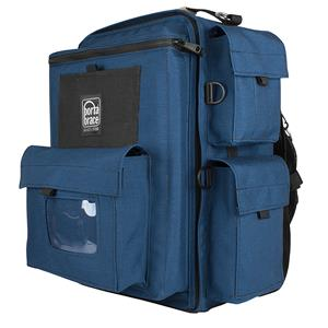 Porta Brace BK1N Video Backpack, Blue with Red Accents: Picture 1 regular