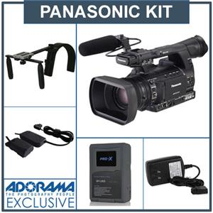 "Panasonic AG-AC130A AVCCAM 1/3"" Hand-Held Production Camcorder AG-AC130APJ B"