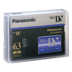 Panasonic AYDVM63PQ 63/42 Minute Professional Quality Mini-DV Digital Tape. AYDVM63PQ