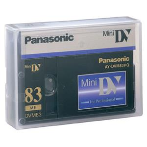 Panasonic AYDVM83PQ 83/55 Min Professional Mini-DV Tape: Picture 1 regular