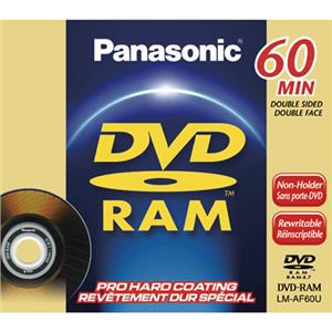 Panasonic LMAF60U 8cm DVD-RAM Disc, Pro Hard Coating: Picture 1 regular