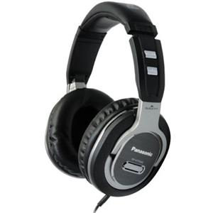 Panasonic RP-HTF600 Step Monitor Headphones, Silver: Picture 1 regular