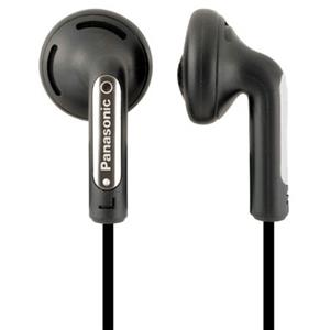Panasonic Step Ear Buds - Black: Picture 1 regular
