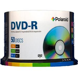 Polaroid DVD+R 4.7GB/120min 16X Recording, 50-Pack: Picture 1 regular