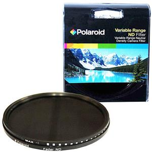Polaroid 58mm HD Multi-Coated Neutral Density Fader Filter PLFILFDND58
