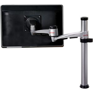 Peerless Two-Link Dual Articulating Desktop Pole/Desk Clamp for 15-24