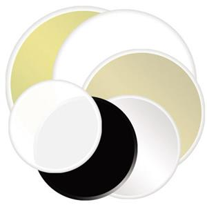 Photoflex DL1632SG 32 inch Circular Disc Silver / Gold: Picture 1 regular