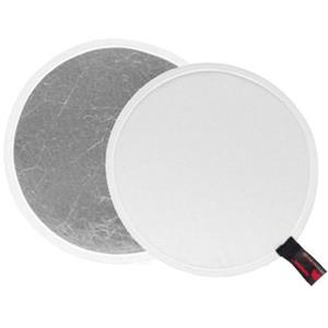Photoflex DL1352WS 52 inch Circular Disc White / Silver: Picture 1 regular