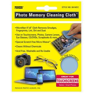 Pioneer 88MCC Photo Cleaning Cloth 8 x 8 Microfiber: Picture 1 regular