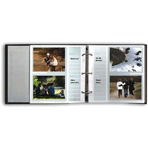 Pioneer Bonded Leather 3 Ring Photo Album Refill, Holds 40-4x6