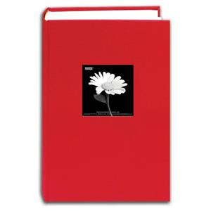 Pioneer DA300CBF RED Cloth Frame Photo Album, 4x6-300: Picture 1 regular