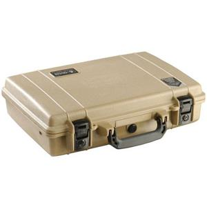 Pelican Large Computer Watertight Hard Case without Foam Insert 1490-001-190