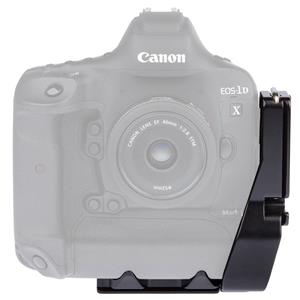 ProMediaGear PLC1DX L-Bracket Plate for Canon 1Dx, Black: Picture 1 regular