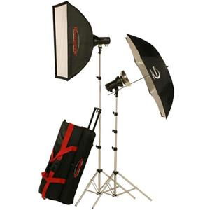 Photogenic AKC325K Basic Studio 2-Light Soft Box Kit 900100