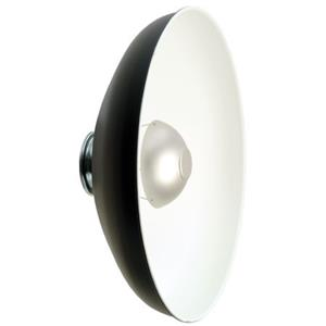 "Photogenic 18"" Quick Change Satin Anodized Reflector 916828"