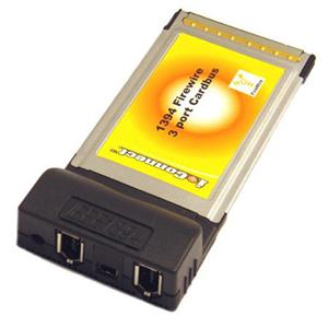 PPA International PCMCIA FireWire 1394a 2 6pin Port Amp 1 4pin Type II CardBus
