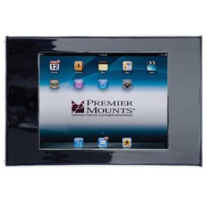 Premier Mounts IPM-710 Secure iPad Mounting Frame, Black: Picture 1 regular