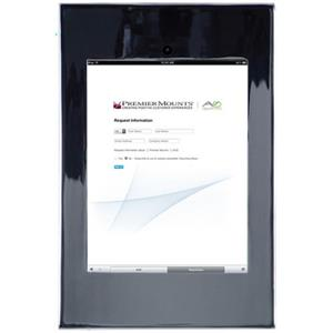 Premier Mounts IPM-720C Secure iPad Mounting Frame with Camera Access, Chrome: Picture 1 regular