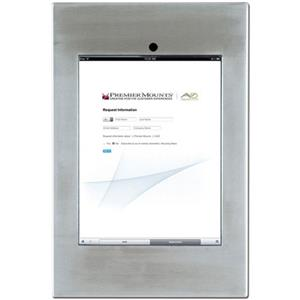 Premier Mounts IPM-720SS iPad Mounting Frame, Stainless Steel: Picture 1 regular