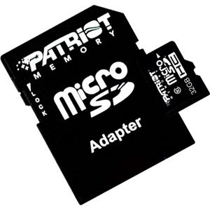 Patriot Memory LX Class 10 Signature 16GB MicroSDHC Flash Memory Card PSF16GMCSDHC10