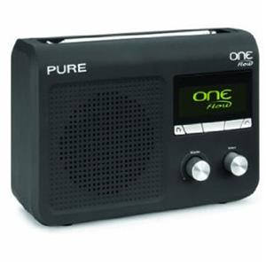 Pure Digital Technologies One Flow Portable Internet and FM Radio, Black: Picture 1 regular