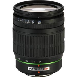 Pentax SMCP-DA 17-70mm f/4 AL (IF) SDM Super Wide Angle Auto Focus Zoom Lens 21740