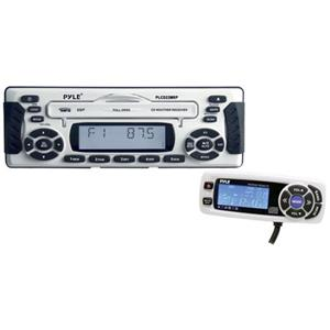 Pyle PLCD22MRP 1.5 DIN Waterproof Marine CD/MP3 Player Receiver PLCD22MRP