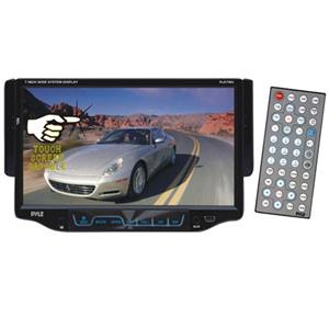 "Pyle PLD7MU 7"" Single DIN TFT Touchscreen DVD/MP3/MP4/CD-R/USB/SD/AM/FM/RDS Receiver PLD7MU"