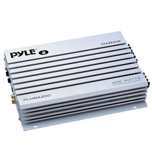 Pyle PLMRA200 2 Channel 400 Watts Bridgeable Waterproof Marine Amplifier PLMRA200