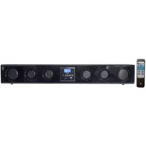 Pyle PSBM200 6-Way 300 Watt Multi-Source Wall/Shelf Mount Sound Bar PSBM200