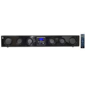 Pyle PSBV400 6-Way 300 Watt Multi-Source Wall/Shelf Mount Sound Bar w/USB PSBV400