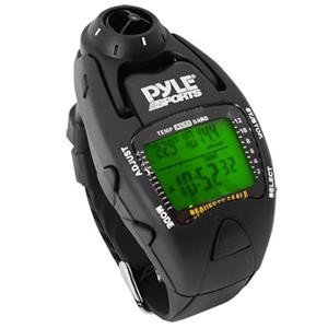 Pyle PSWWM90 Wind Speed Meter with Altimeter, Barometer, Yacht Timer, Black: Picture 1 regular