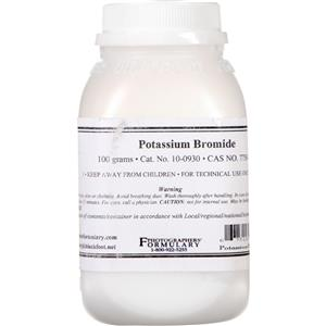 Photographers' Formulary Potassium Bromide 100 grams 100930
