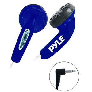 PyleHome PEBH25 Ultra Slim In-Ear Ear-Buds Stereo Bass Headphones PEBH25BL