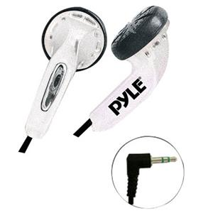 PyleHome PEBH25 Ultra Slim In-Ear Ear-Buds Stereo Bass Headphones PEBH25WT