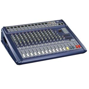 PylePro PMX1208 12 Channel 1000 Watts Amplified Ultra Low Noise Stereo Digital Effect Mixer