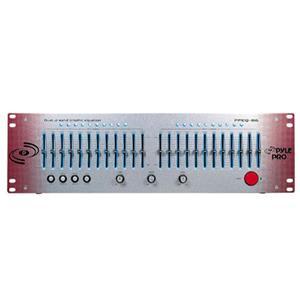 Pyle Pro PPEQ86 Dual Channel 12 Band Graphic Equalizer PPEQ86