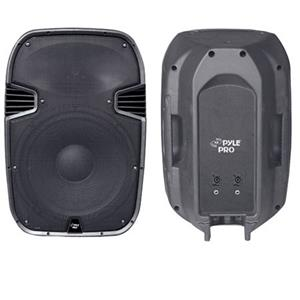 "Pyle PPHP1597 15"" 1600 W 2-Way Plastic Molded Speaker System PPHP1597"
