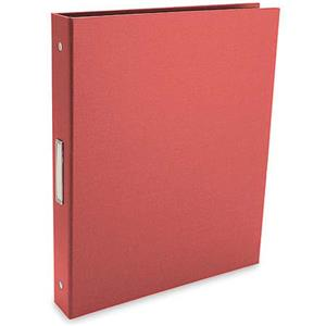 Pina Zangaro Bex 3 Ring Presentation Binder 2in, Red: Picture 1 regular