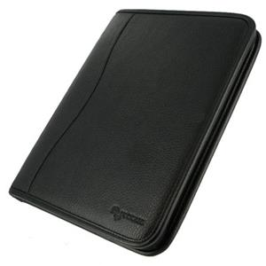 rooCASE Executive Leather Case for iPad 2 / iPad 3, Black: Picture 1 regular