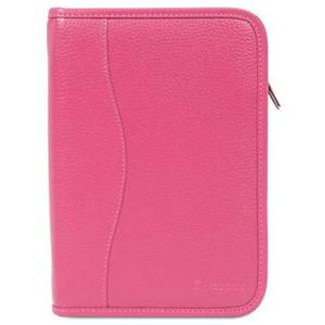 rooCASE Executive Portfolio Leather Case Cover for iPad Mini, Magenta: Picture 1 regular