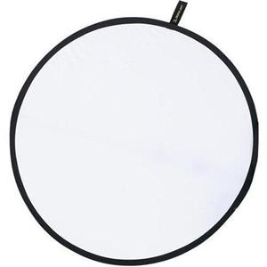 "Adorama 12"" Portable Reflector White / Translucent CFR12T"