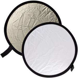 Adorama 12in Circular Collapsible Disc Reflectr,Sunl/Wh: Picture 1 regular