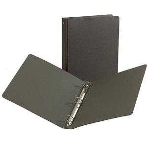 Resource 7291012 3-Ring Binder, Graphite, 10x11.5x1: Picture 1 regular