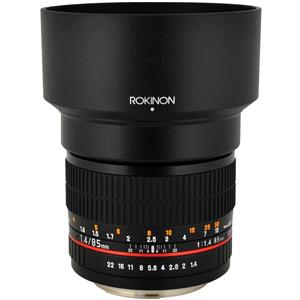 Rokinon 85mm f/1.4 Aspherical Lens 85M-C