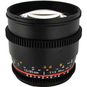 Rokinon 85mm t/1.5 Aspherical Lens for Sony Alpha: Picture 1 regular