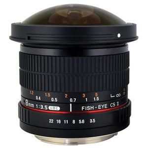 Rokinon 8mm f/3.5 HD Fisheye Lens HD8M-P