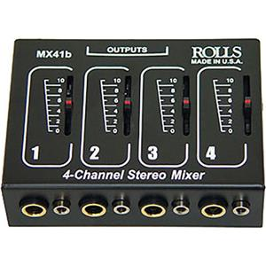 Rolls MX41B 4 Channel Passive Mixer MX41B